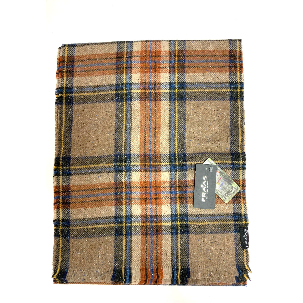 Men's Plaid Scarf!  Brown!