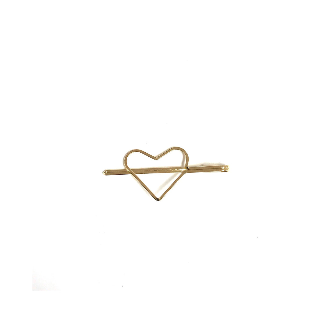 Gold Heart Bobby Pin!