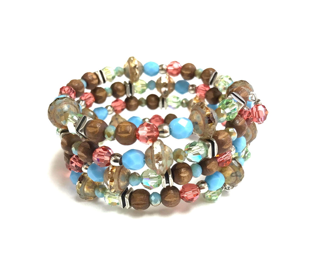Multi Layered Coil Bracelet!