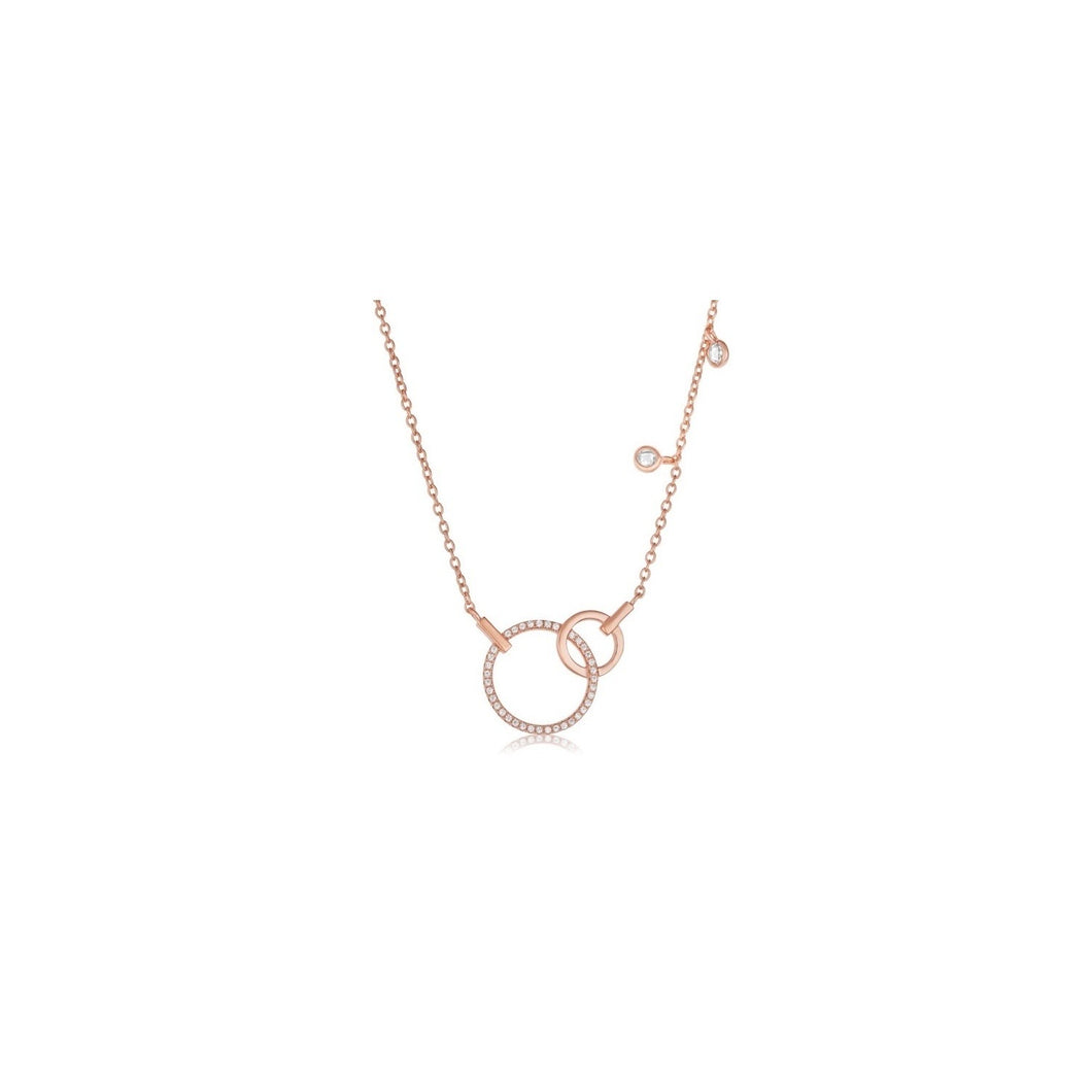 Rose Gold & Cz Necklace!