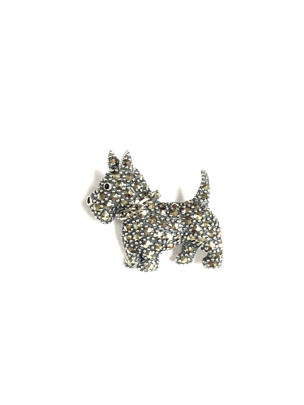 Scottie Dog Brooch!