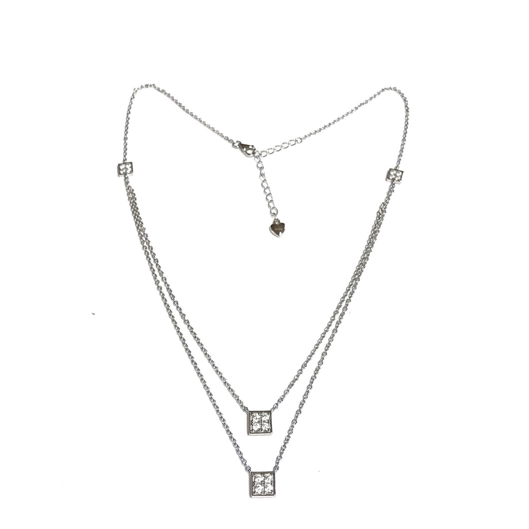 Cz Sterling Silver Necklace!