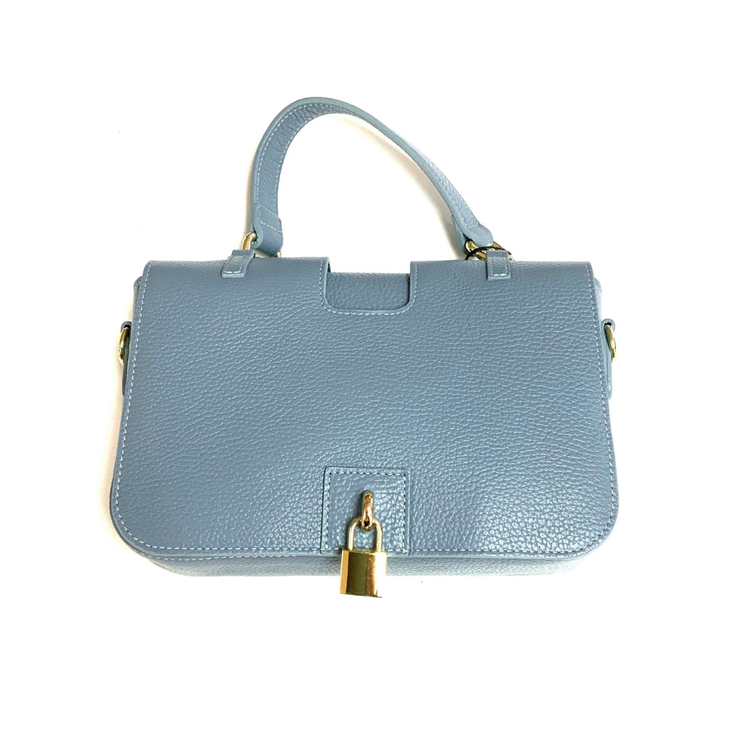 Hermione Leather Bag!  Blue!  20% Off!