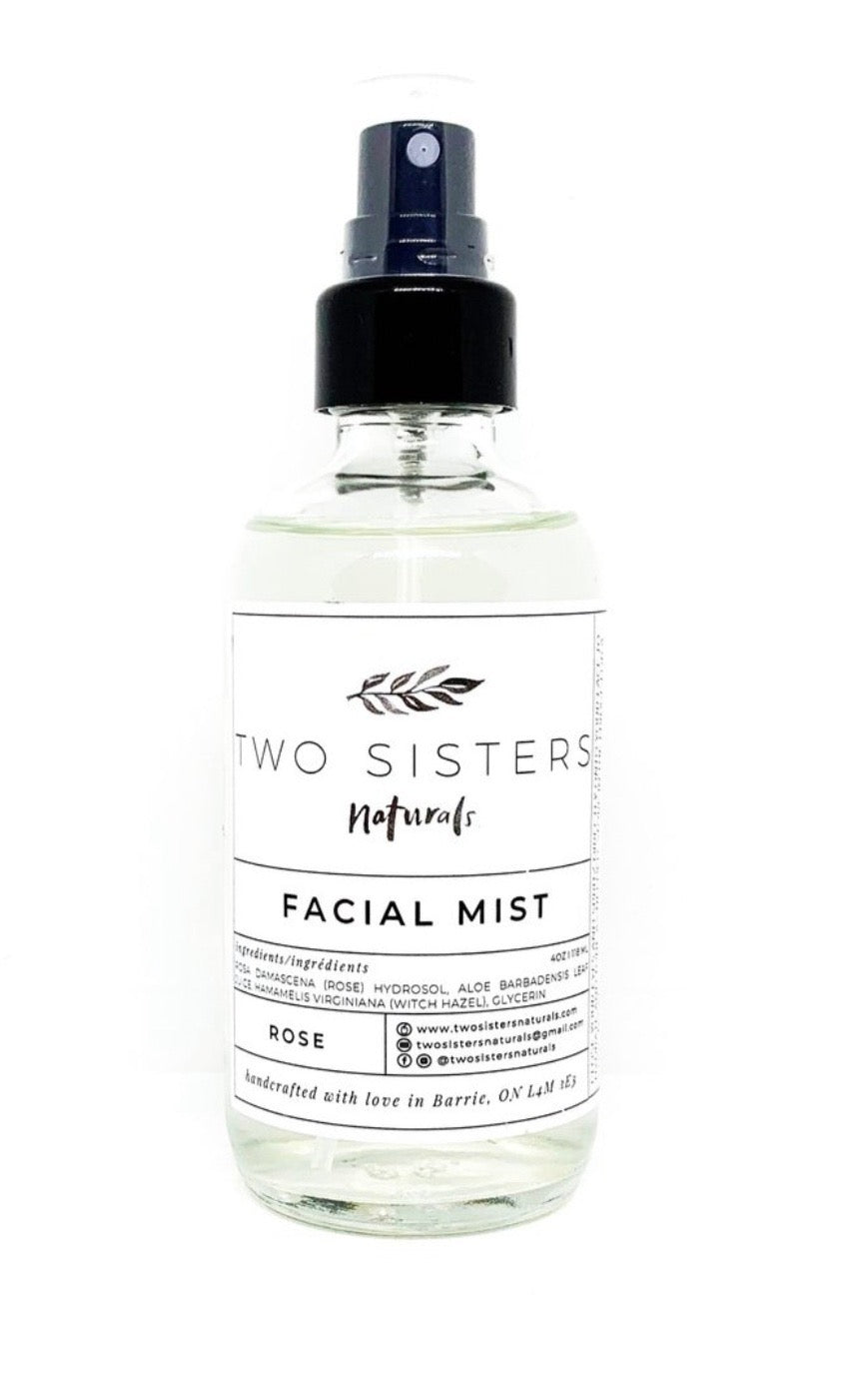 Two Sisters Rose Facial Mist