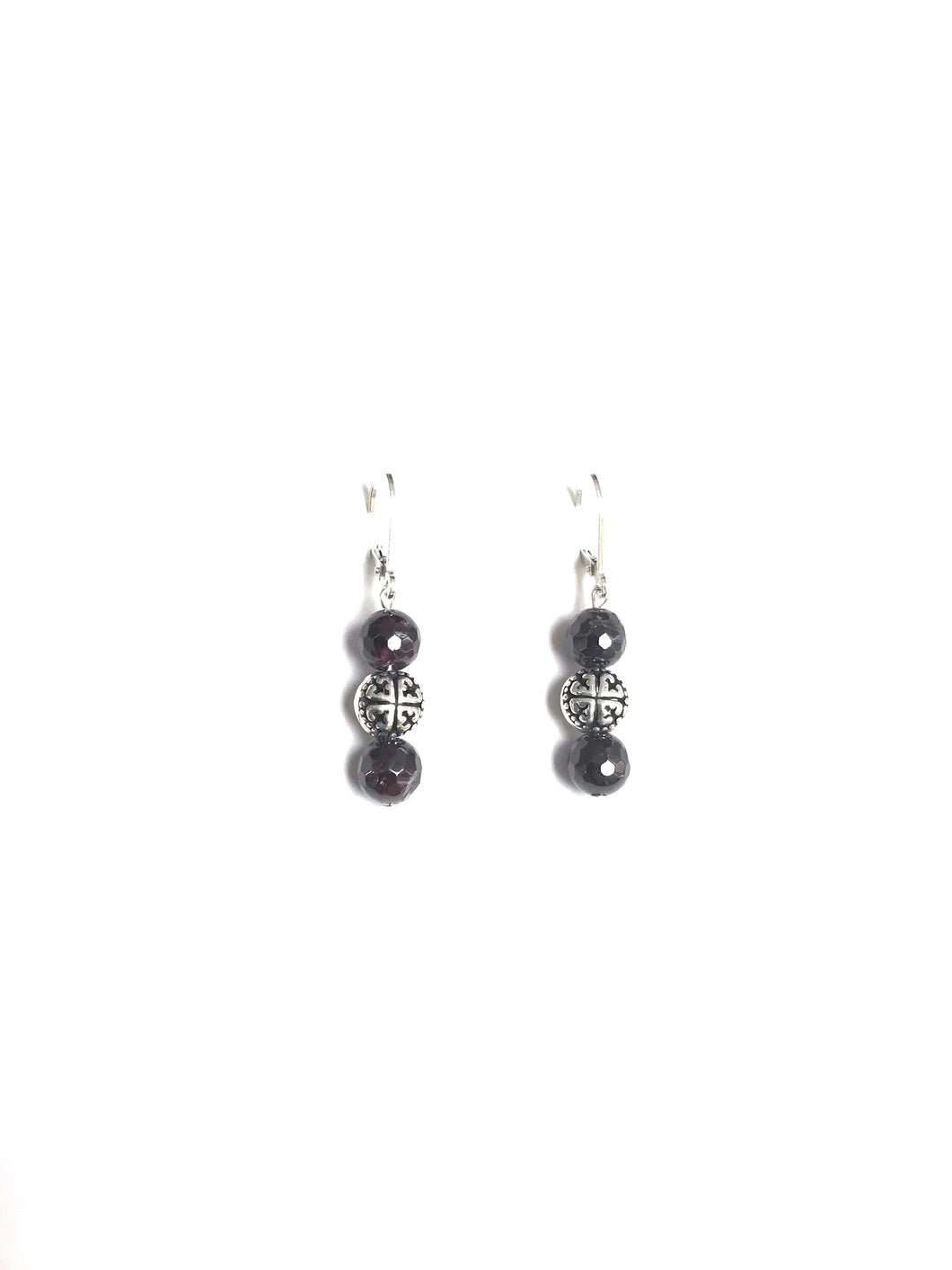 Garnet Earrings!