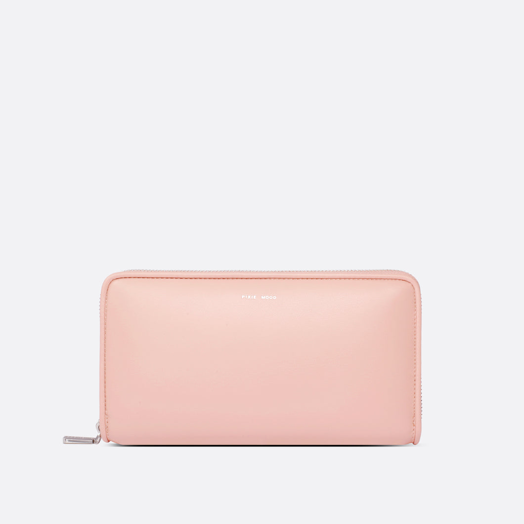 Bubbly Wallet In Rose!