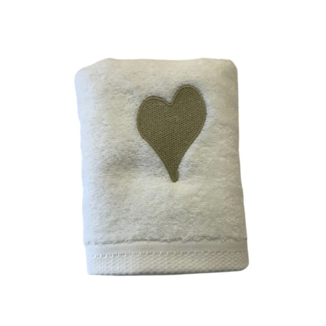 Luxurious Hand Towels!  Heart!
