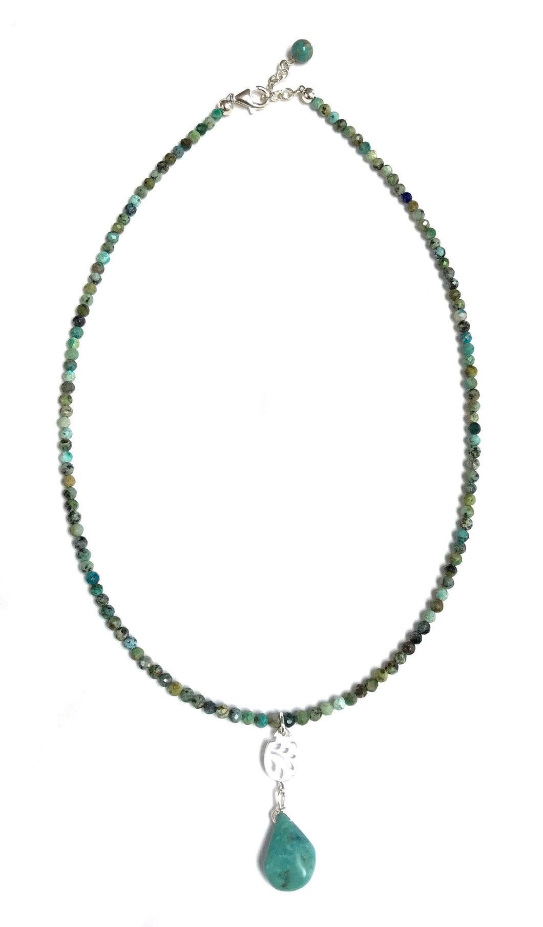 African Turquoise Necklace!