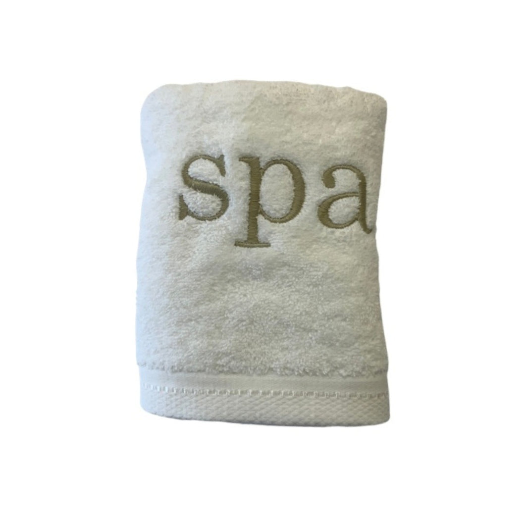 Luxurious Hand Towels!  Spa!