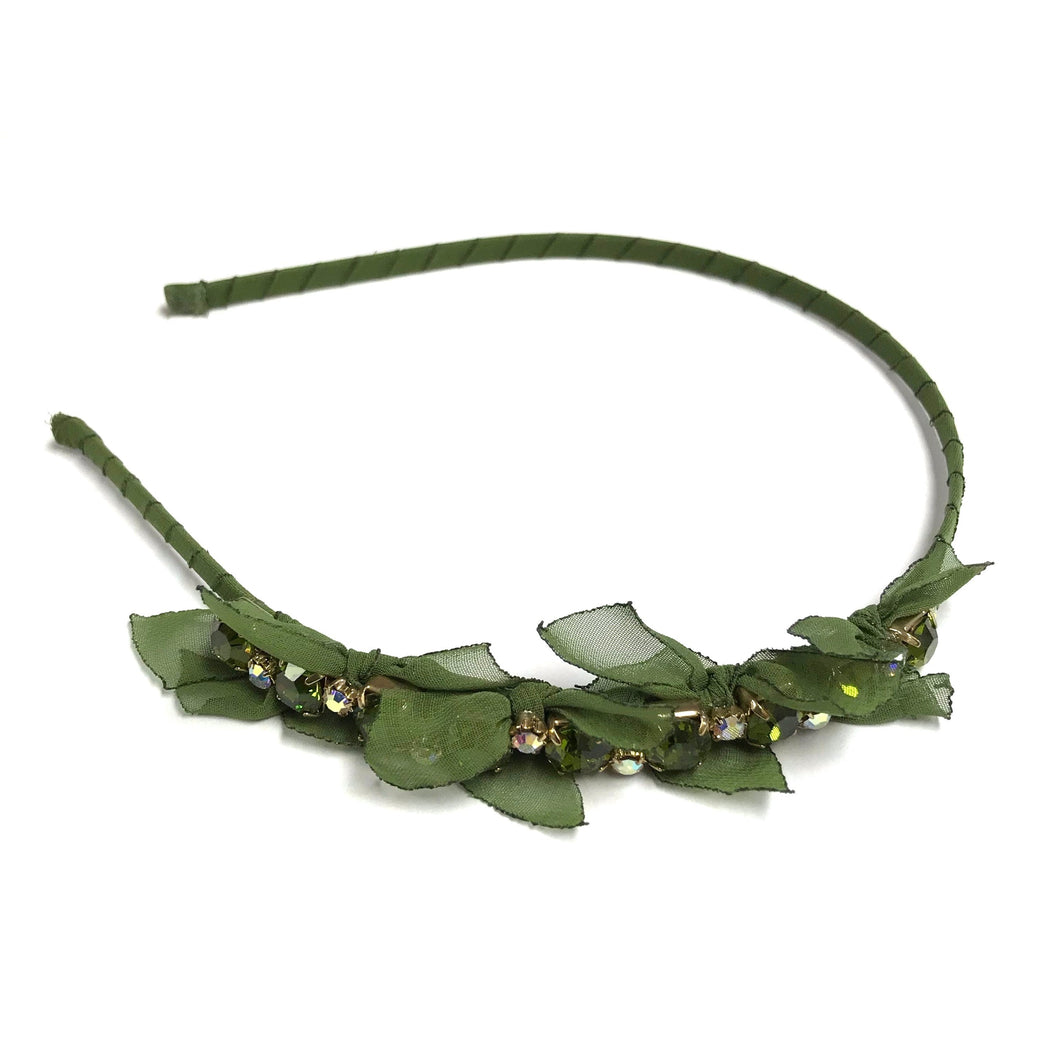 Green Crystal Headband!