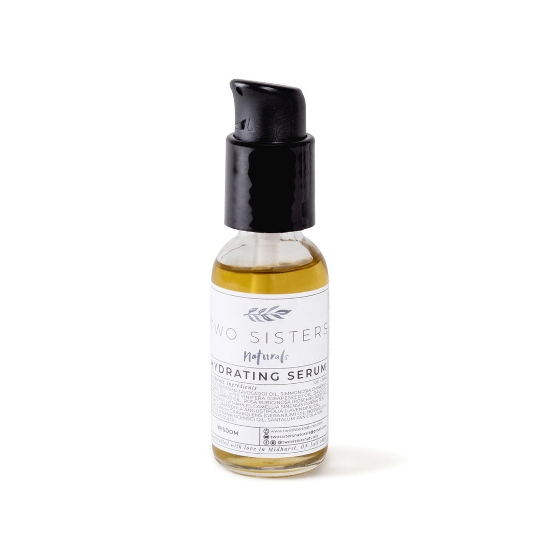 Two Sisters Natural Hydrating Serum!  Wisdom!