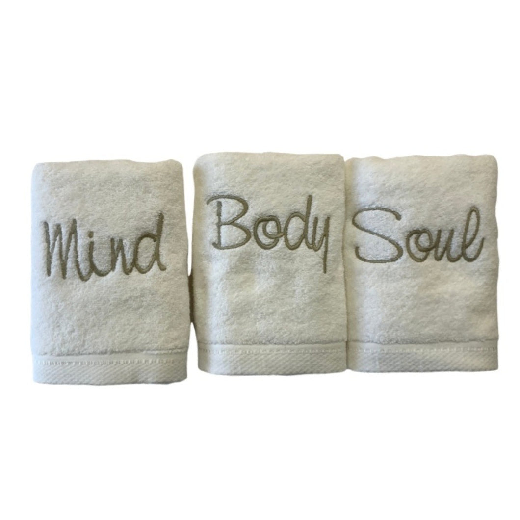 Mind Body & Soul Luxury Towel Set!