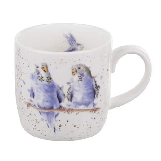Date Night Budgie Wrendale Mug!