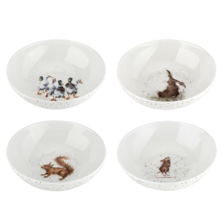 Wrendale Set Of Four Cereal Bowls!