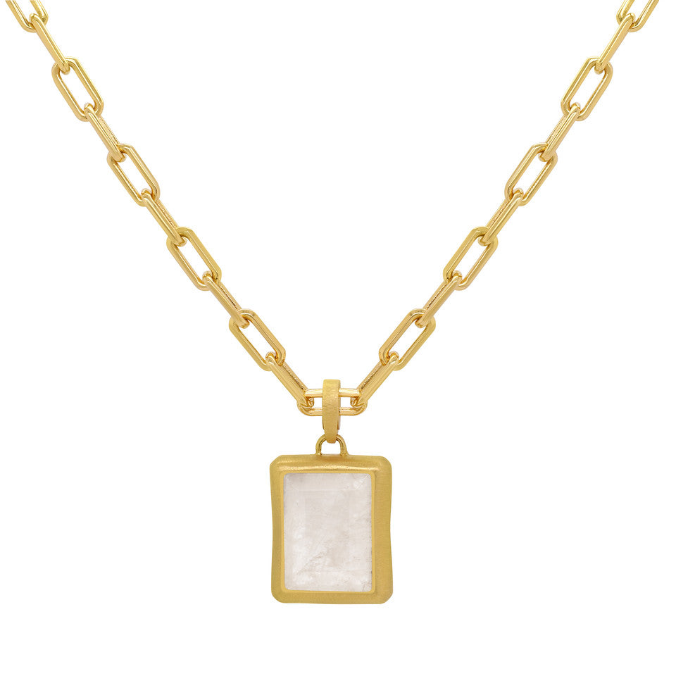Dean Davidson Baguette Necklace In Moonstone!