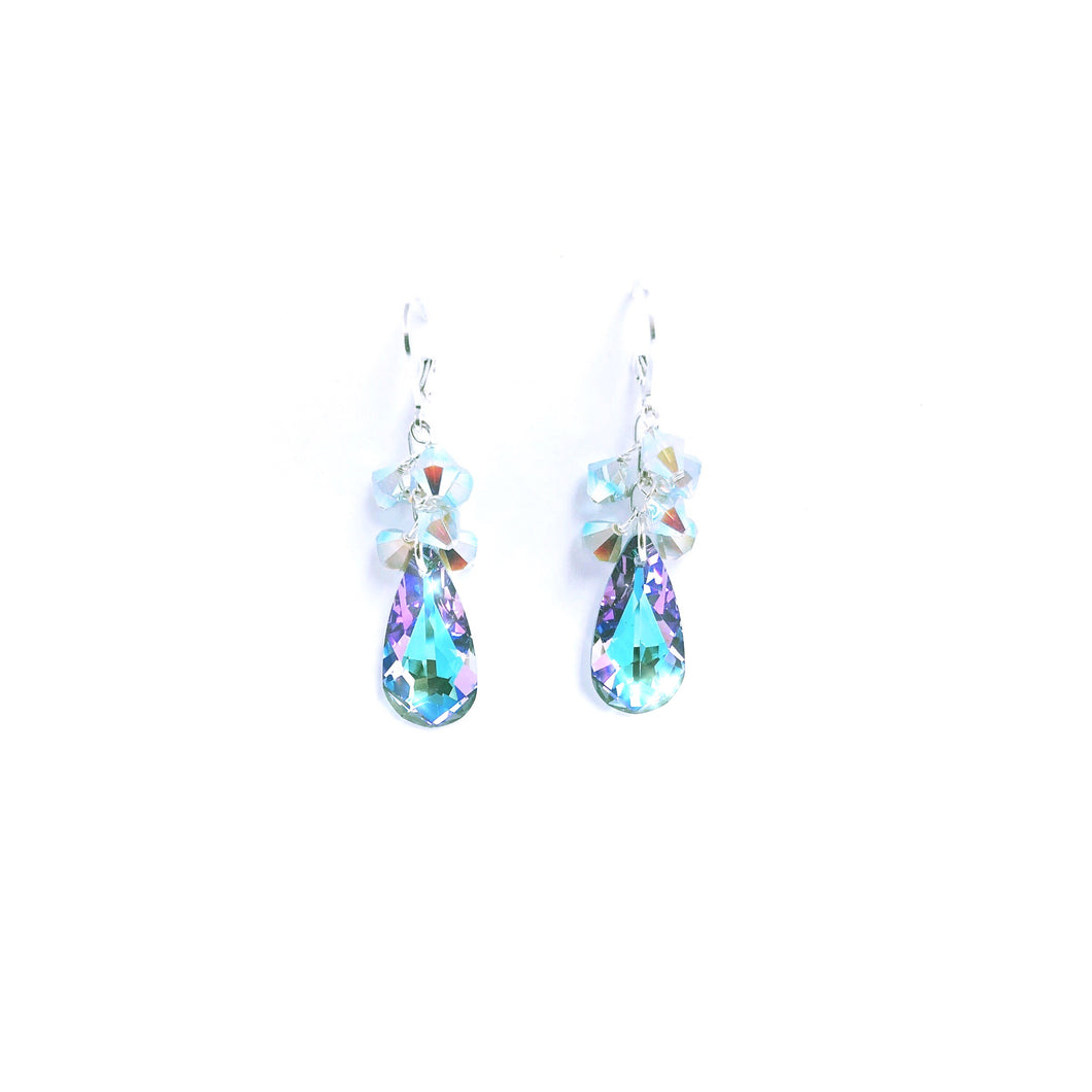 Gorgeous Swarovski Crystal Earrings!