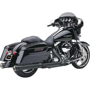 Cobra NH Series Muffler for Touring (Black, '17+ touring)