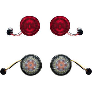 Custom Dynamics ProBEAM® LED Front and Rear Turn Signal Conversion Kit