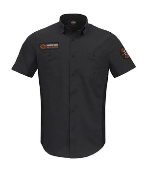 Harbor Town Harley-Davidson Women's Premium Vented Shop Shirt