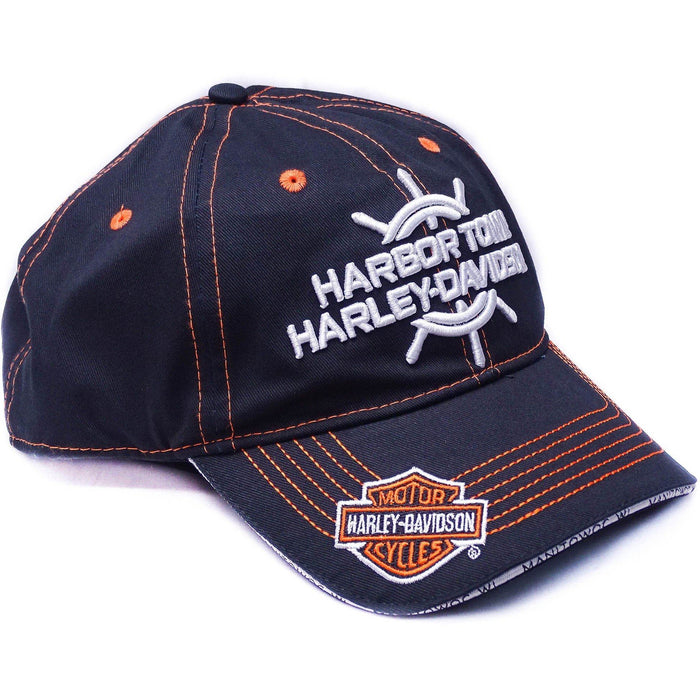 Harley-Davidson™ embroidered Men's Baseball Cap (Dealer Logo)