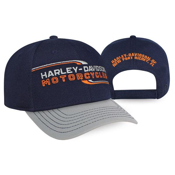 Harley-Davidson Lineation Adjustable Cap, Blue - BCC34031