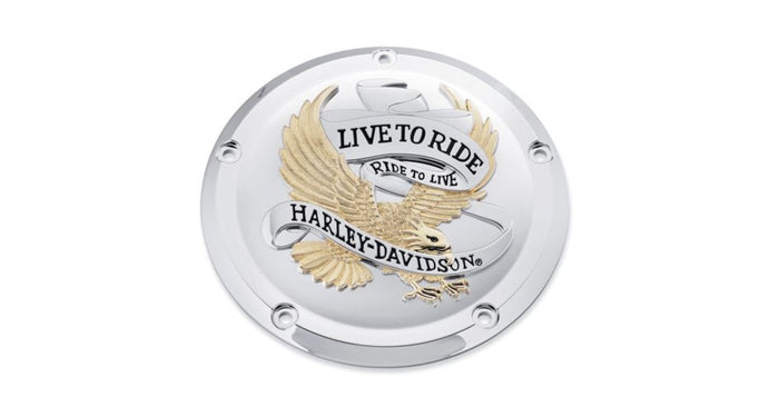 Harley-Davidson® Live to Ride Derby Cover (Touring) - 25700472