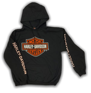 Harley-Davidson Men's Bar & Shield Logo Pullover Hooded Sweatshirt 30297503