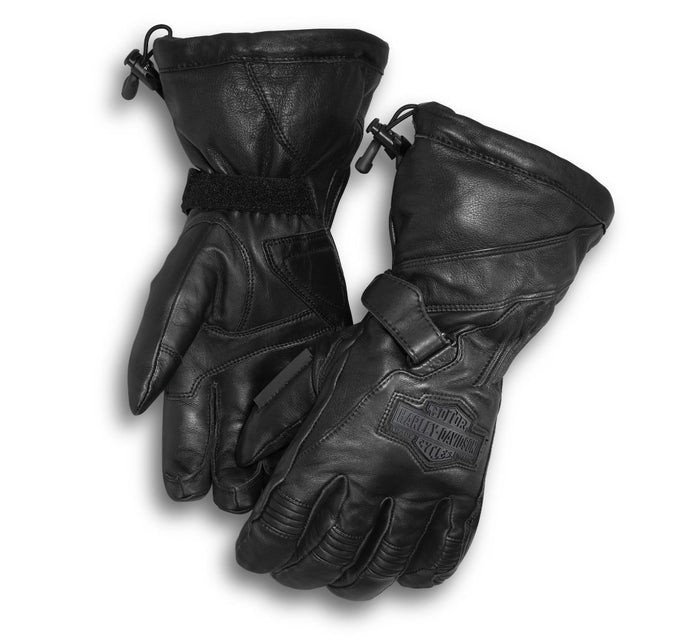 Harley-Davidson Men's Circuit Waterproof Gauntlet Gloves - 98276-14VM