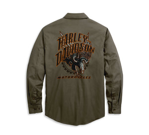 Harley-Davidson Men's Eagle Logo Shirt - 96119-20VM