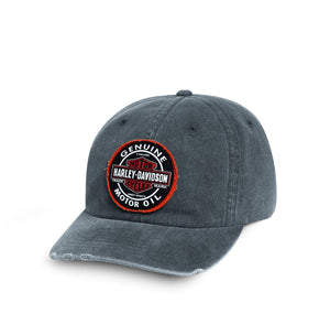 Harley-Davidson Men's Genuine Oil Patch Cap - 99411-16VM