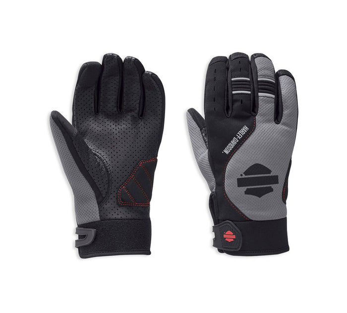 Harley-Davidson® Men's Grandview Mesh & Leather Gloves - 97149-19VM