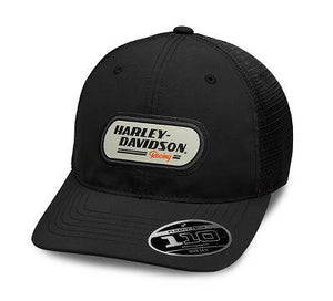 Harley-Davidson Men's H-D Racing Patch Trucker Cap - 99459-19VM