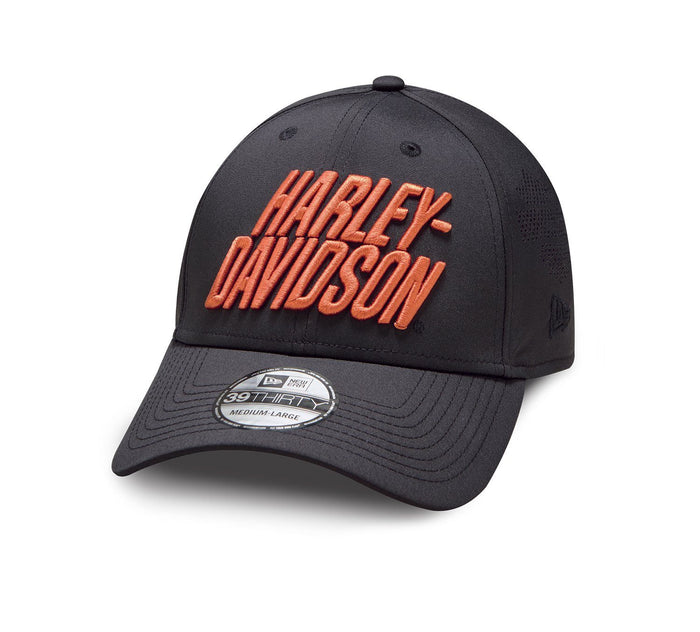 Harley-Davidson® Men's Laser Perf 39THIRTY Cap - 97856-19VM