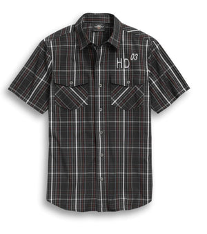 Harley-Davidson Men's Legendary Plaid Shirt - 96299-20VM