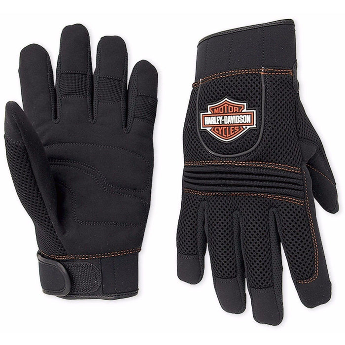 Harley-Davidson™ Men's Mesh Full-Finger Riding Gloves 98263-07VM