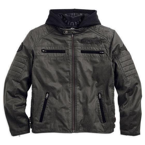 Harley-Davidson™ Men's Passing Link 3-in-1 Embroidered Riding Jacket 98549-14VM