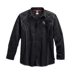 Harley-Davidson Men's Performance Coldblack Tech Long Sleeve Shirt 99017-17VM