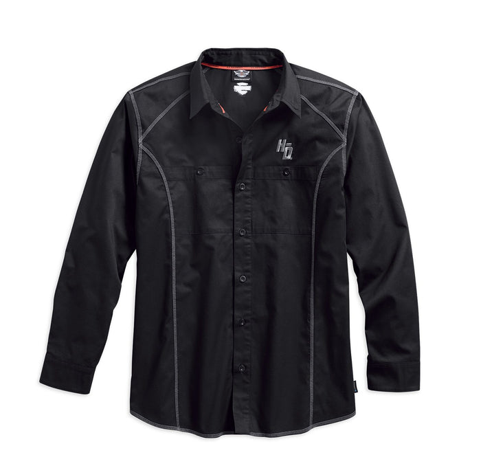 Harley-Davidson® Men's Performance Coldblack Tech Long Sleeve Shirt 99017-17VM
