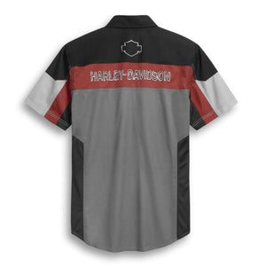 Harley-Davidson Men's Performance Mesh Panel Shirt - 96298-20VM