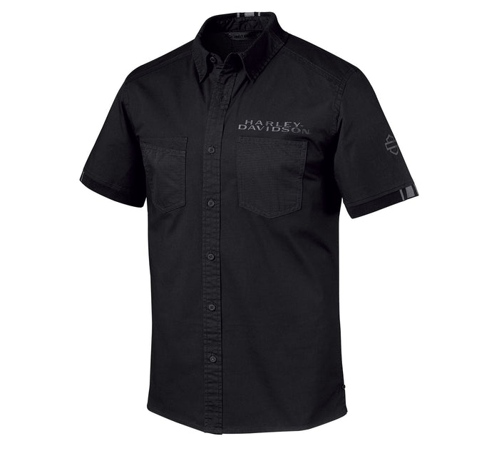 Harley-Davidson® Men's Performance Mesh Stretch Shirt - 96650-19VM