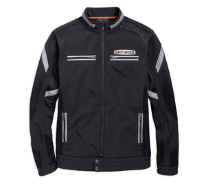 Harley-Davidson Men's Performance Soft Shell & Mesh Jacket - 97518-19VM