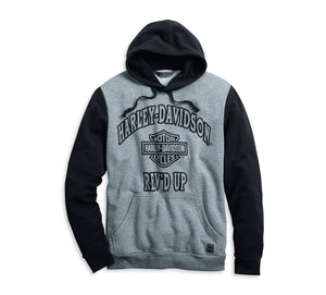 Harley-Davidson Men's Rev'd Up Pullover Hoodie - 96054-20VM