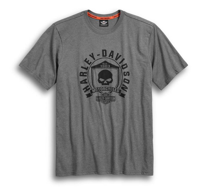 Harley-Davidson® Men's Skull Shield Graphic Tee - 99032-17VM