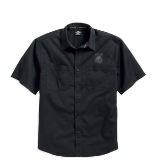 Harley-Davidson Men's Skull Shield Shirt - 99009-16VM