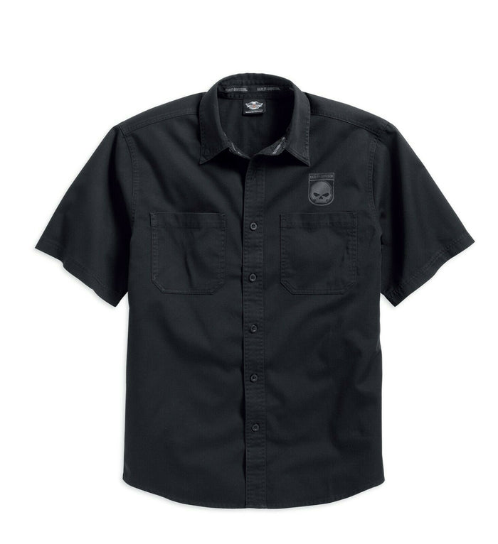 Harley-Davidson® Men's Skull Shield Shirt - 99009-16VM