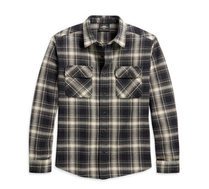 Harley-Davidson Men's Vintage Plaid Shirt - 96197-21VM