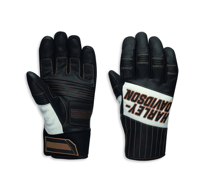 Harley-Davidson Men's Windale Mixed Media Gloves - 97110-20VM