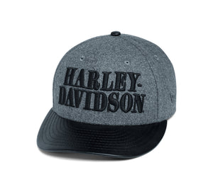 Harley-Davidson Men's Wool-Blend Adjustable Cap - 97609-20VM
