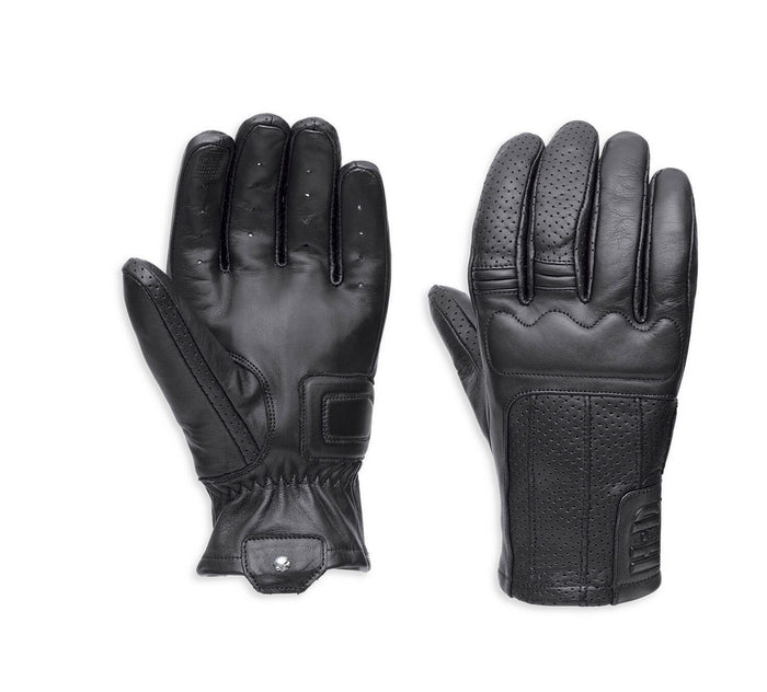 Harley-Davidson® Sale Men's Newdale Perforated Leather Gloves - 97116-18VM
