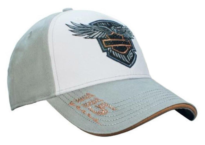 Harley-Davidson® Women's 115th Anniversary Colorblocked Baseball Cap, BCC25963